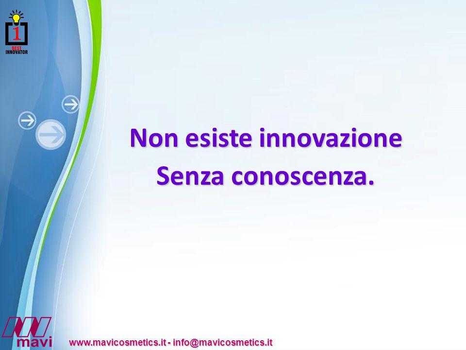 Non esiste innovazione