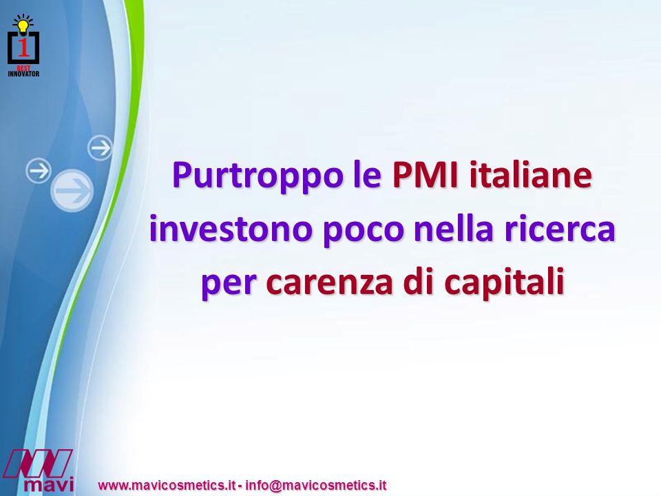 Purtroppo le PMI italiane investono poco nella ricerca