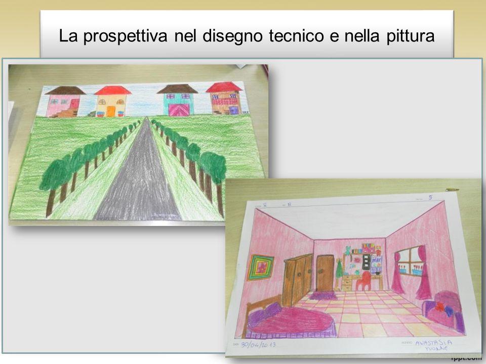 La prospettiva nel disegno tecnico e nella pittura