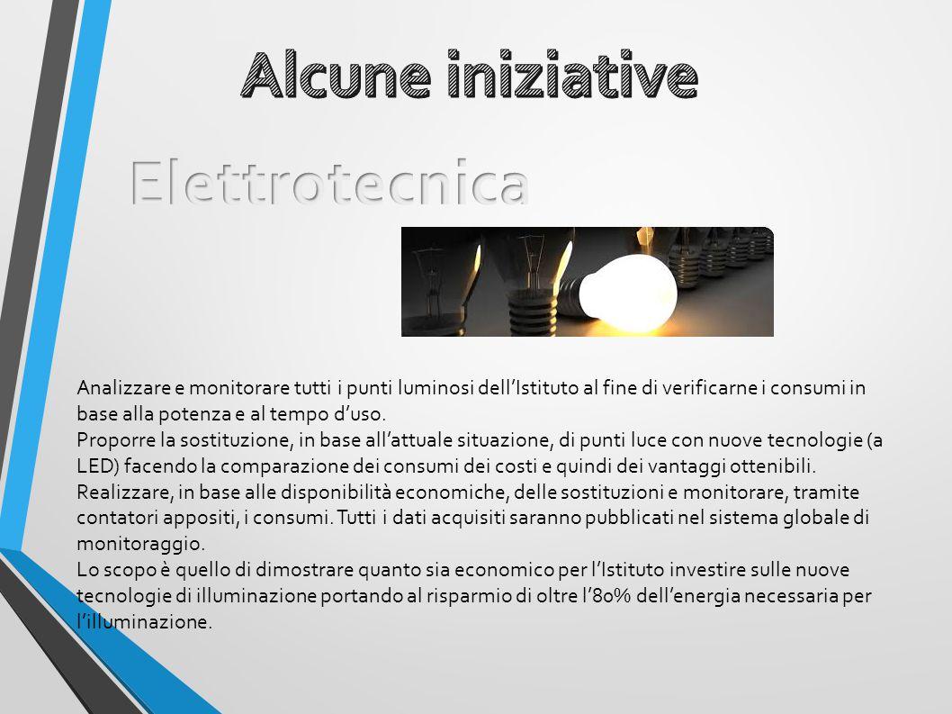Alcune iniziative Elettrotecnica