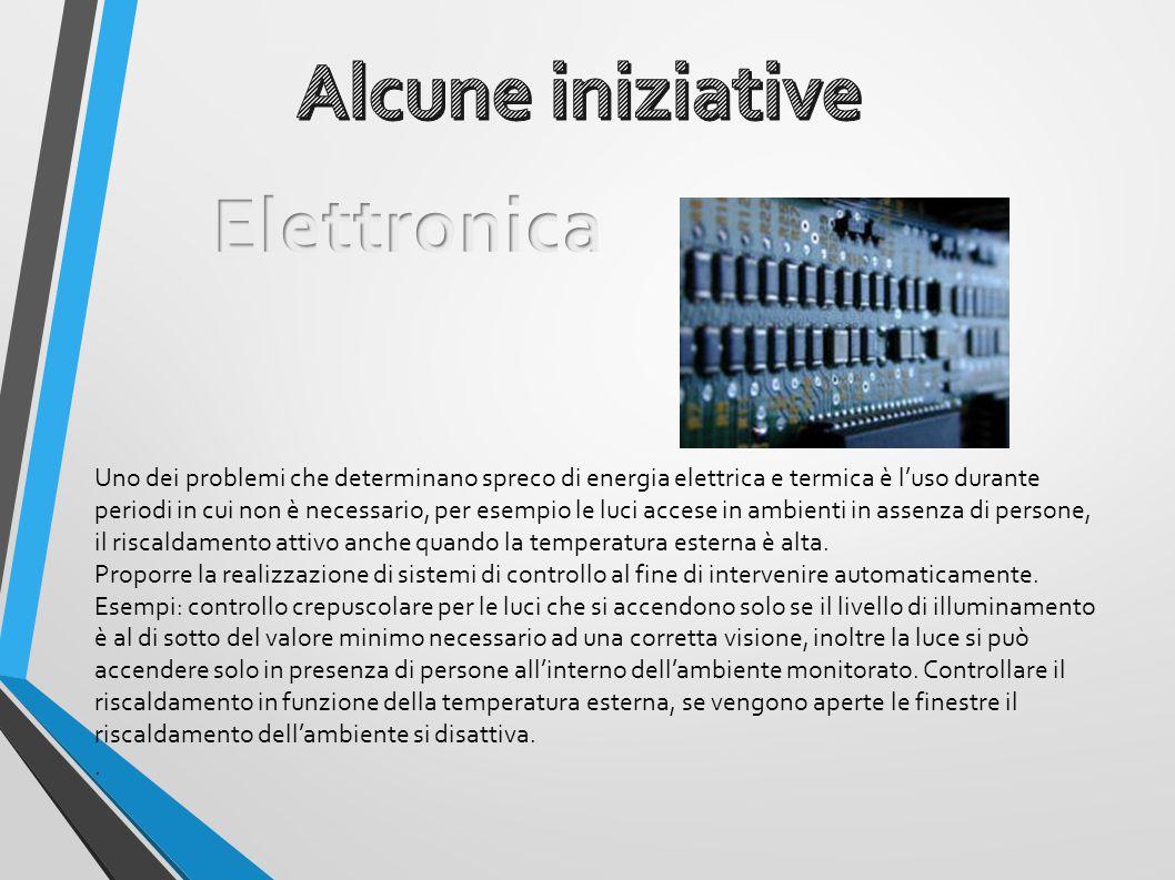 Alcune iniziative Elettronica