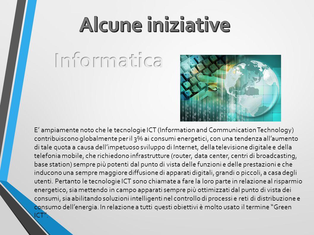 Alcune iniziative Informatica