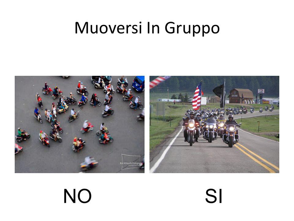 Muoversi In Gruppo NO SI