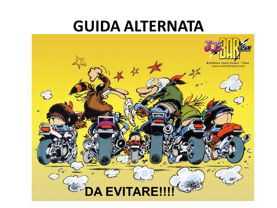 GUIDA ALTERNATA DA EVITARE!!!!