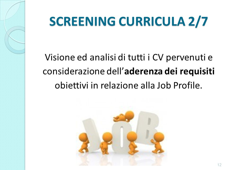 SCREENING CURRICULA 2/7