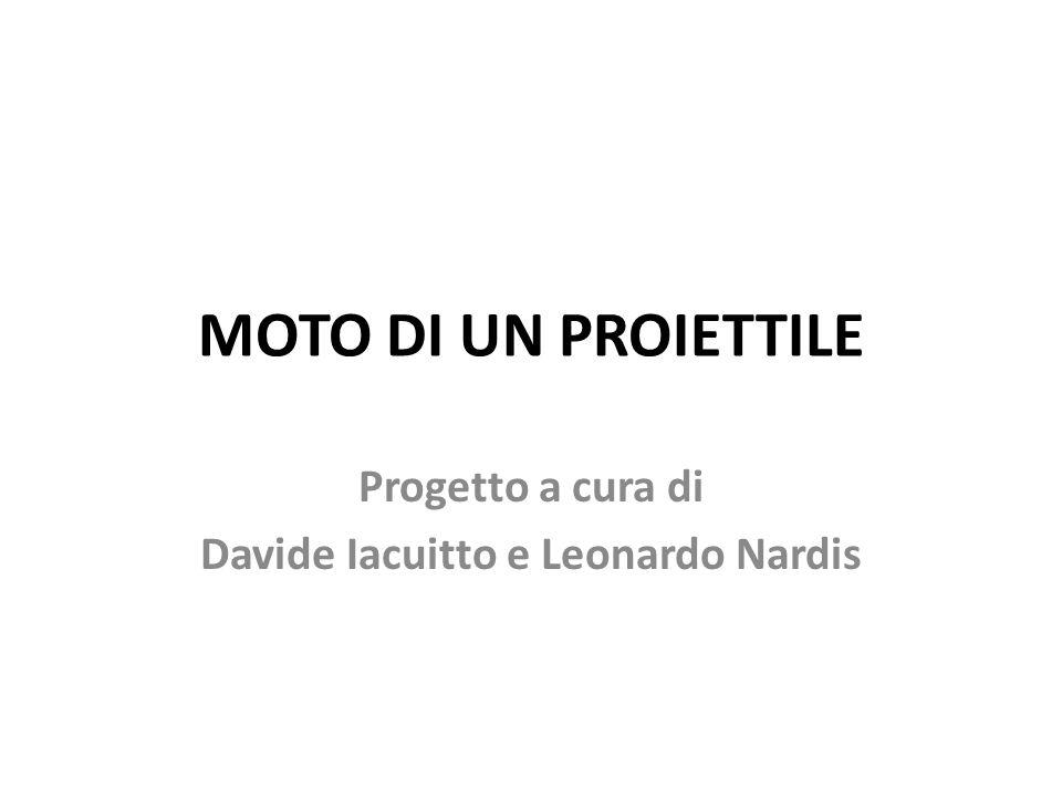 Progetto a cura di Davide Iacuitto e Leonardo Nardis
