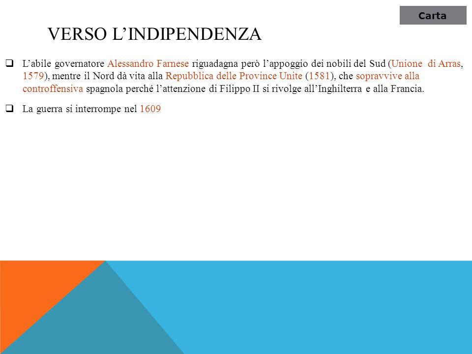 Carta Verso l'indipendenza.