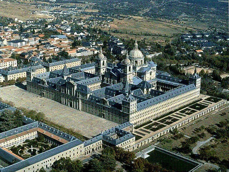 L'Escorial, la reggia di Filippo II presso Madrid