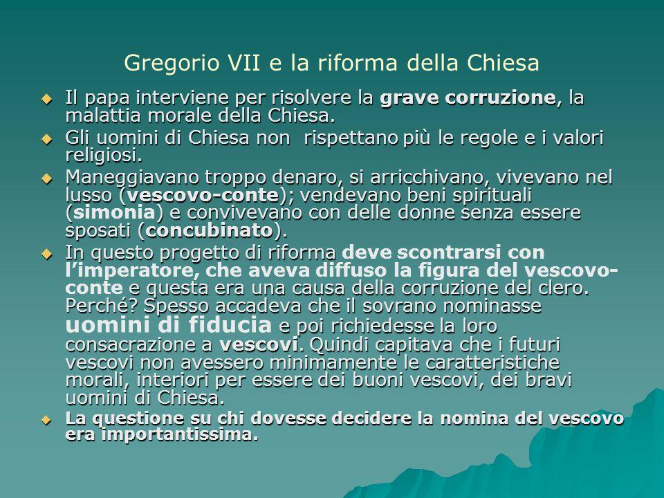 Gregorio VII e la riforma della Chiesa