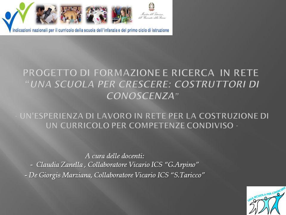 - De Giorgis Marziana, Collaboratore Vicario ICS S.Taricco