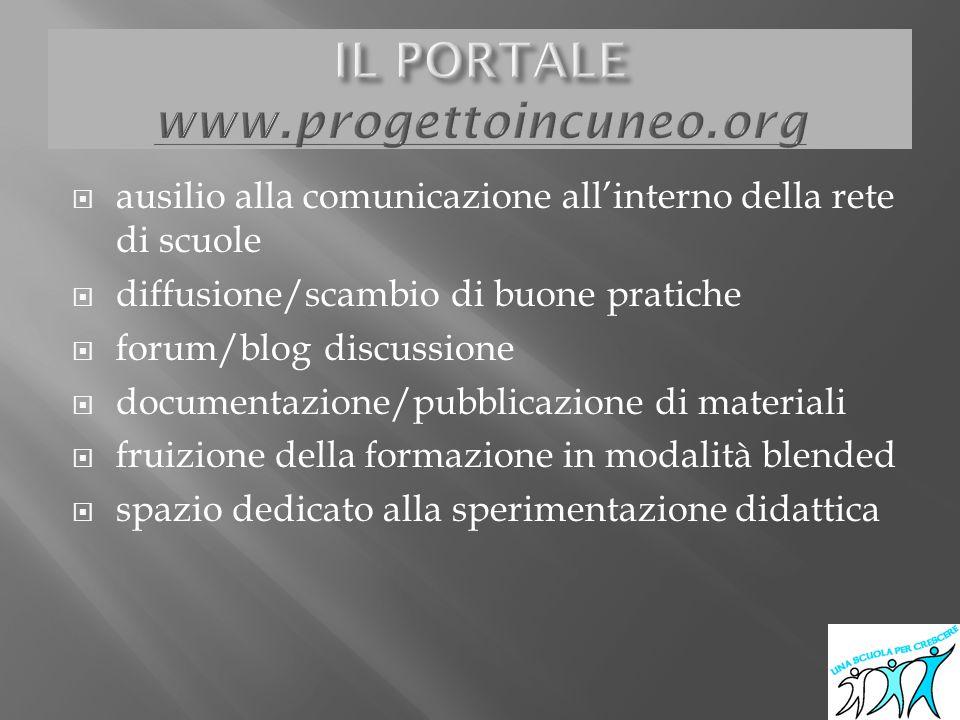 IL PORTALE www.progettoincuneo.org