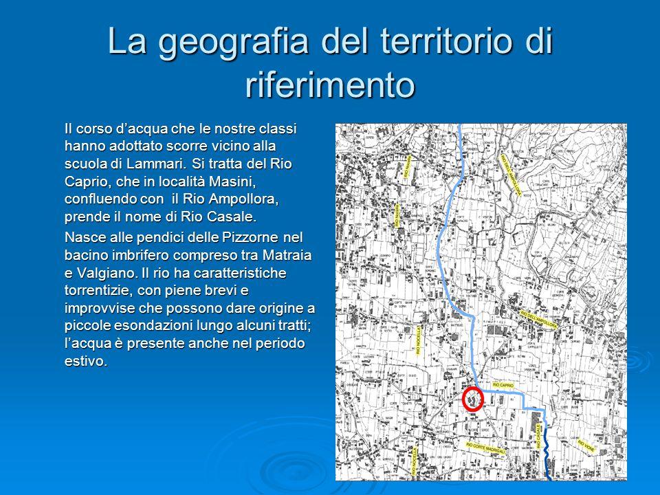 La geografia del territorio di riferimento