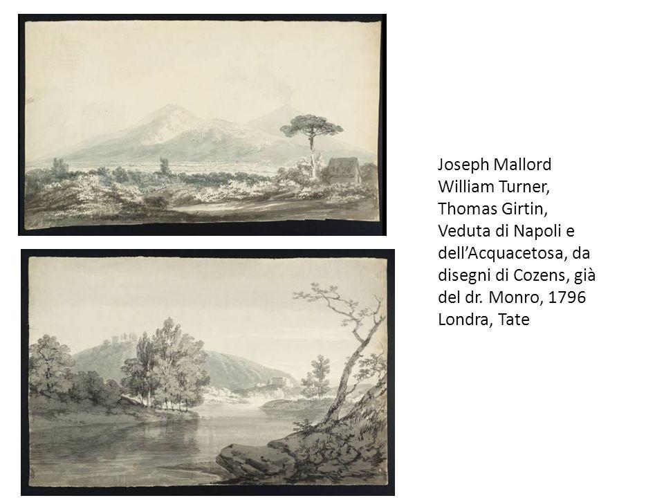 Joseph Mallord William Turner, Thomas Girtin, Veduta di Napoli e dell'Acquacetosa, da disegni di Cozens, già del dr.