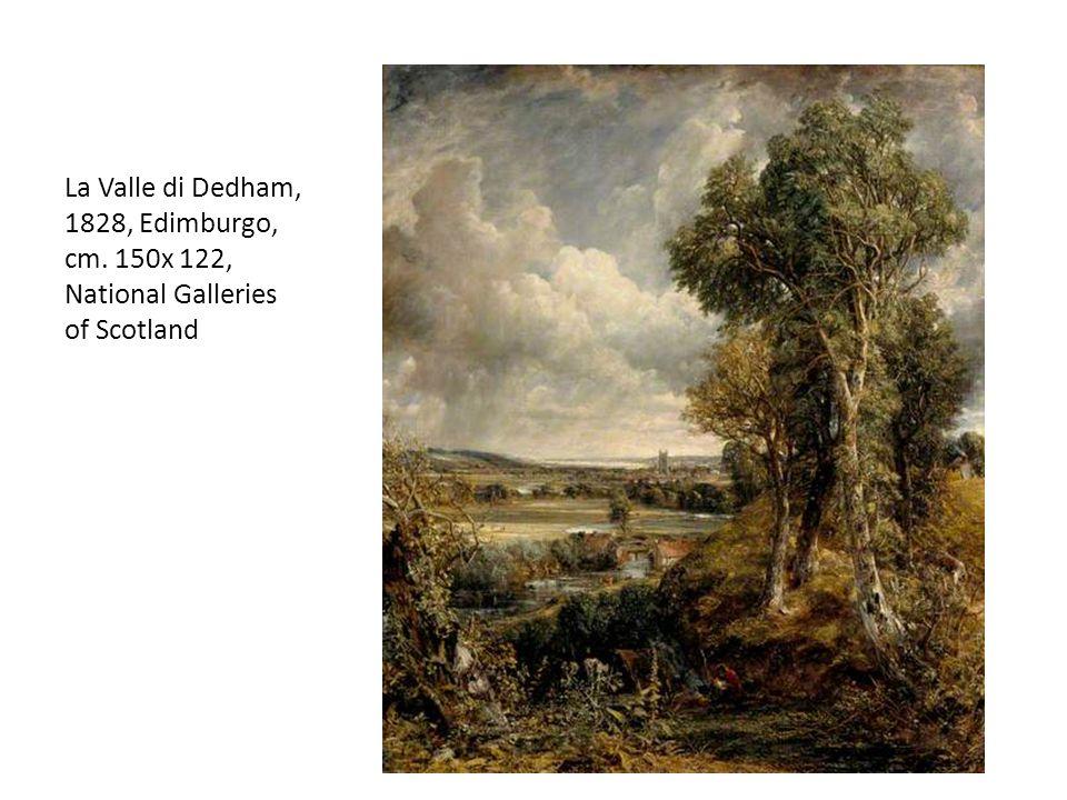 La Valle di Dedham, 1828, Edimburgo, cm