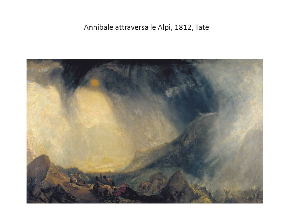 Annibale attraversa le Alpi, 1812, Tate