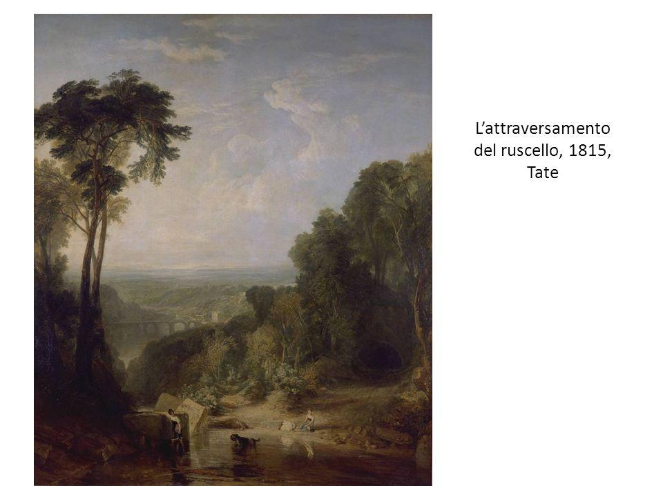 L'attraversamento del ruscello, 1815, Tate
