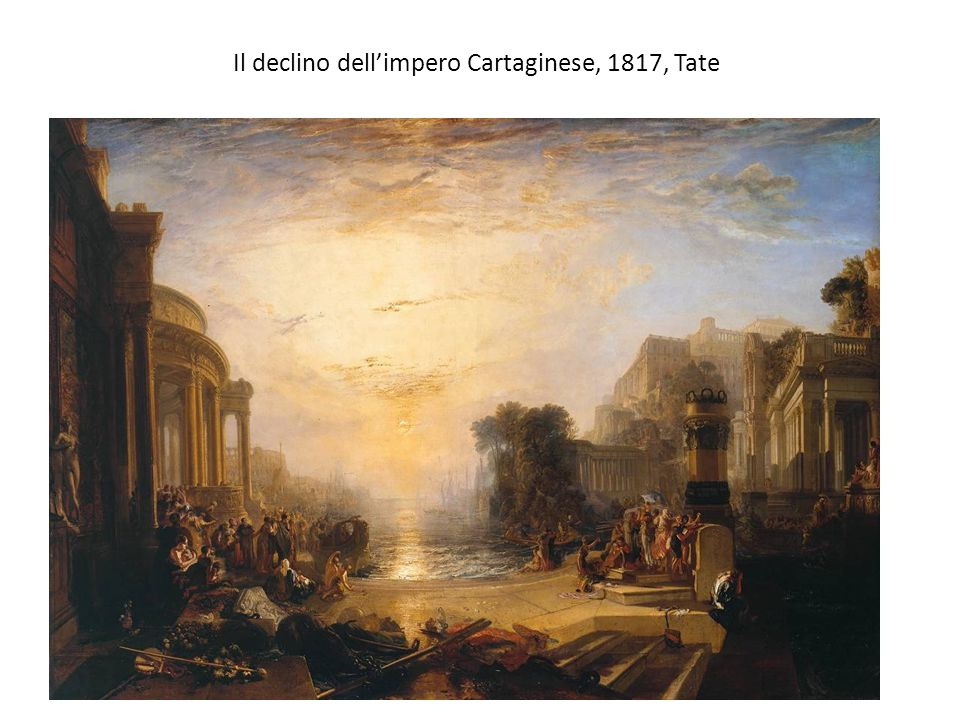 Il declino dell'impero Cartaginese, 1817, Tate