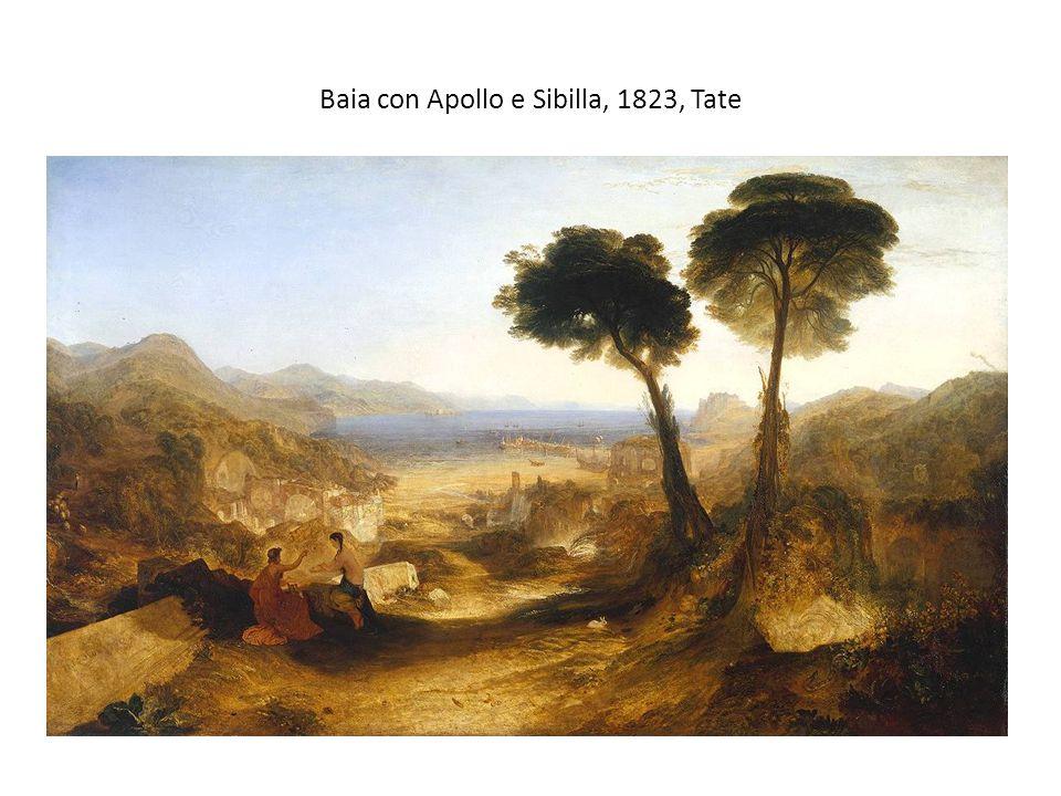 Baia con Apollo e Sibilla, 1823, Tate