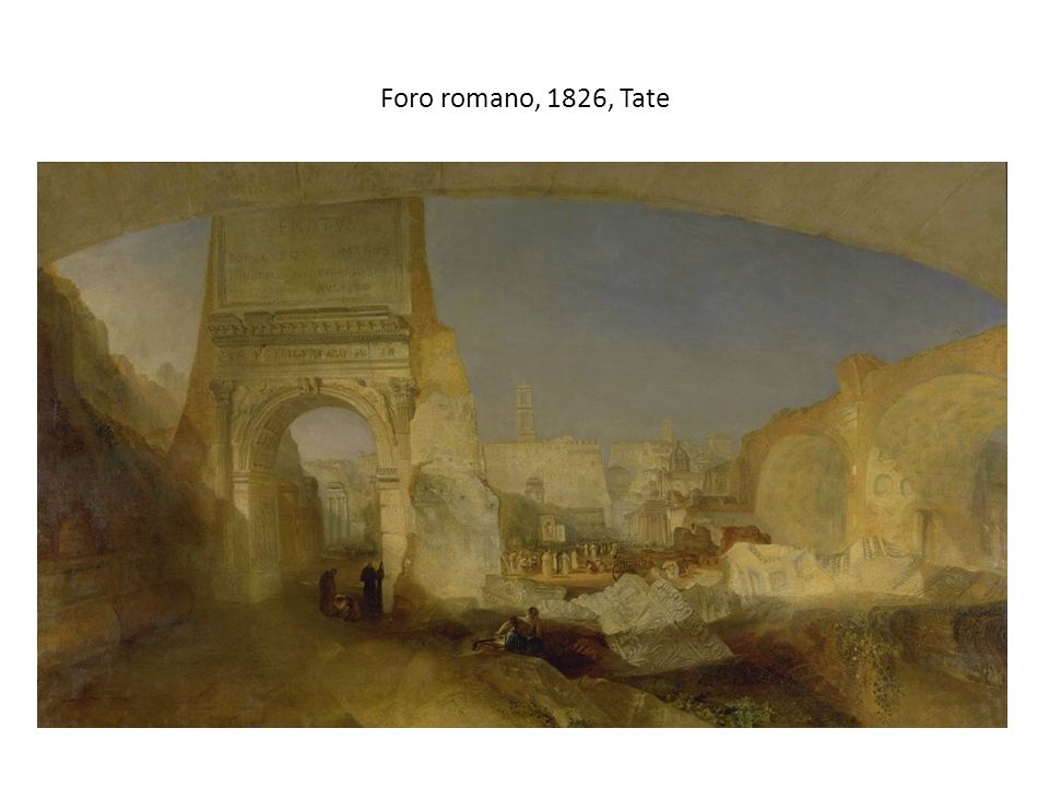 Foro romano, 1826, Tate