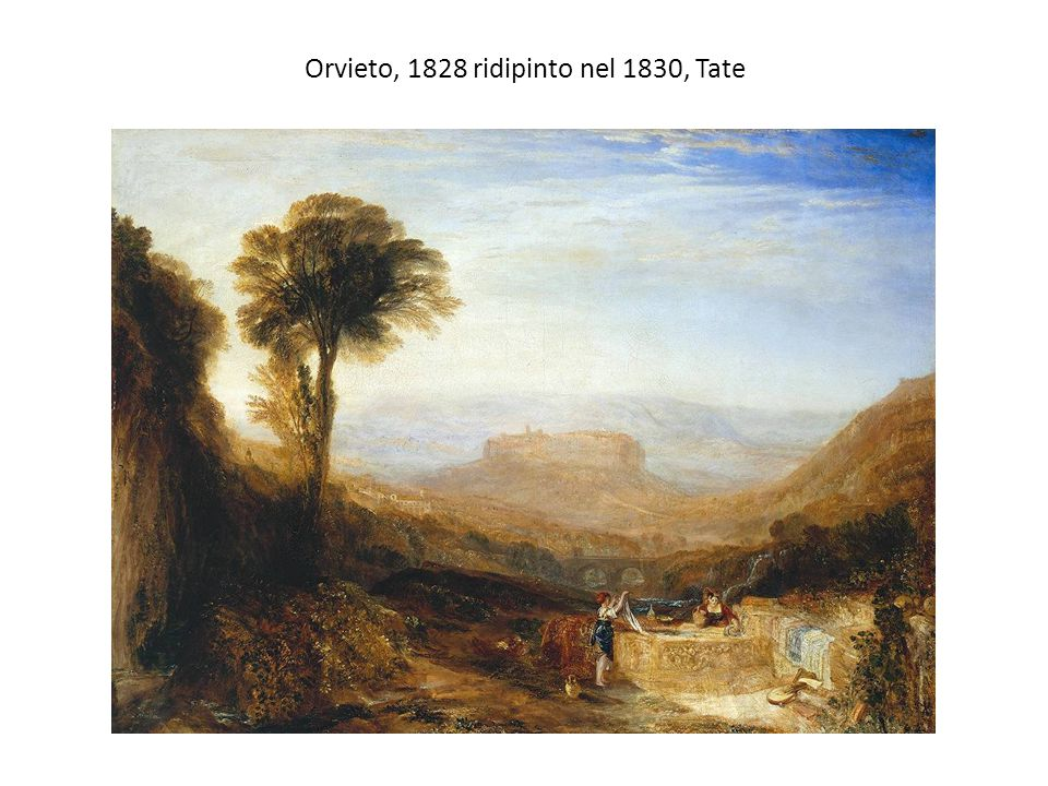Orvieto, 1828 ridipinto nel 1830, Tate