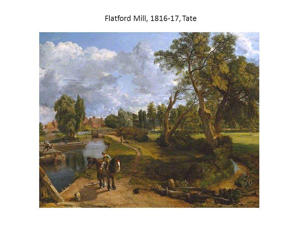 Flatford Mill, 1816-17, Tate