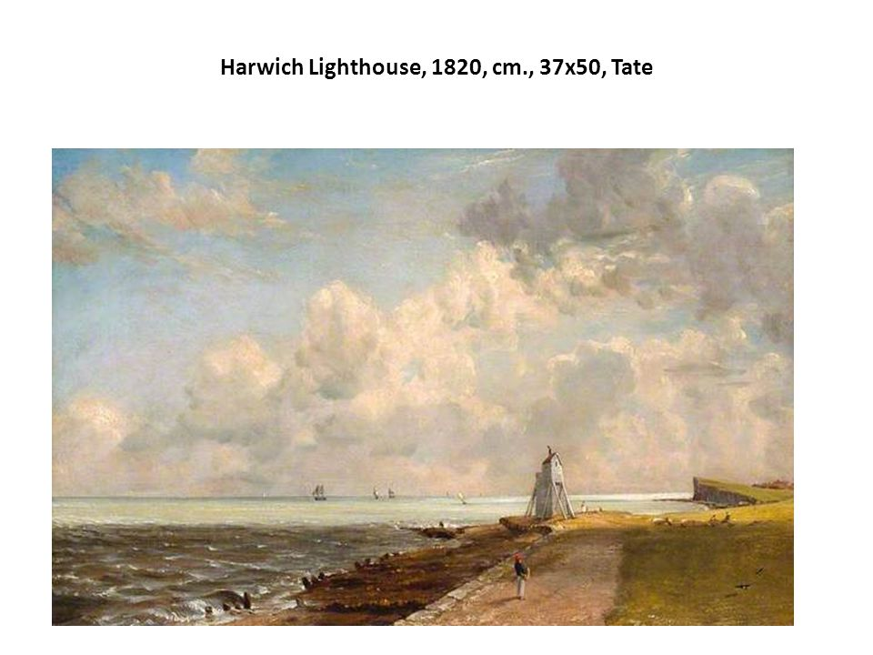Harwich Lighthouse, 1820, cm., 37x50, Tate
