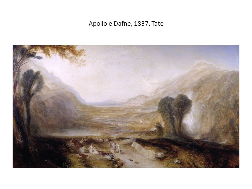 Apollo e Dafne, 1837, Tate