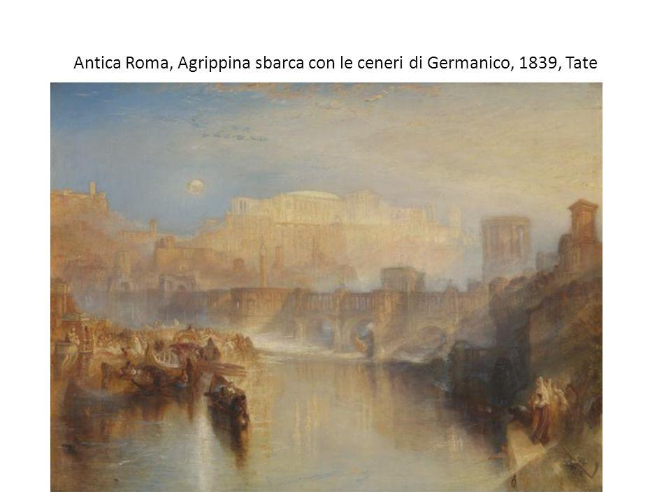 Antica Roma, Agrippina sbarca con le ceneri di Germanico, 1839, Tate