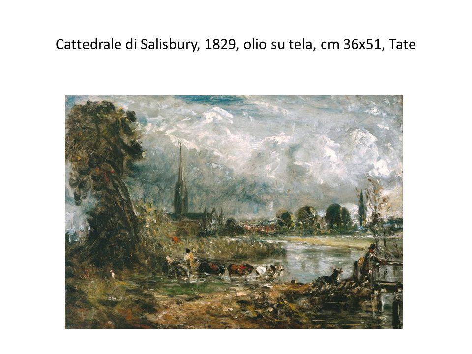 Cattedrale di Salisbury, 1829, olio su tela, cm 36x51, Tate