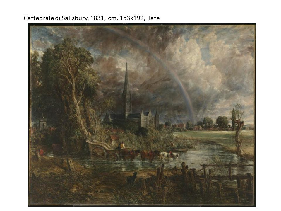Cattedrale di Salisbury, 1831, cm. 153x192, Tate
