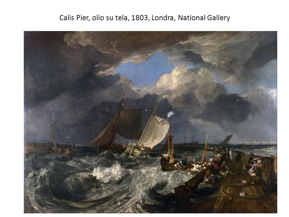 Calis Pier, olio su tela, 1803, Londra, National Gallery