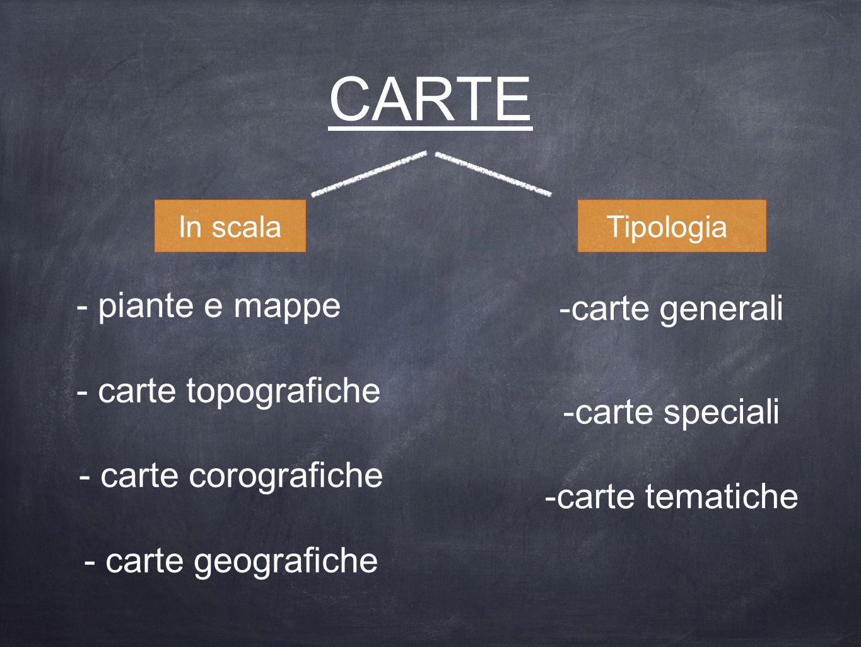 CARTE - piante e mappe carte generali - carte topografiche