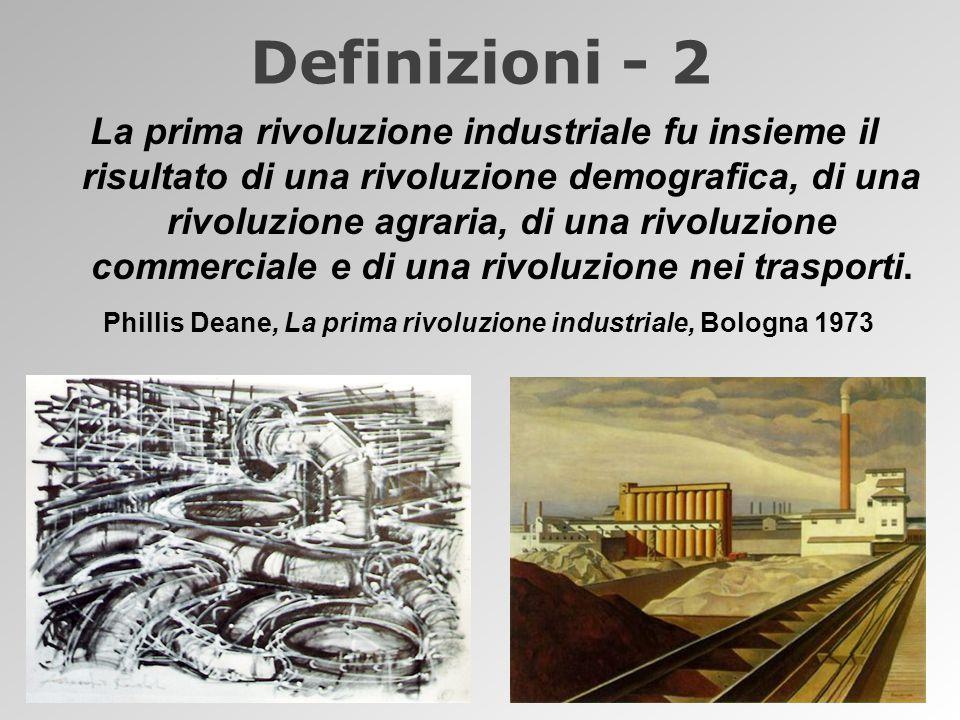 Phillis Deane, La prima rivoluzione industriale, Bologna 1973