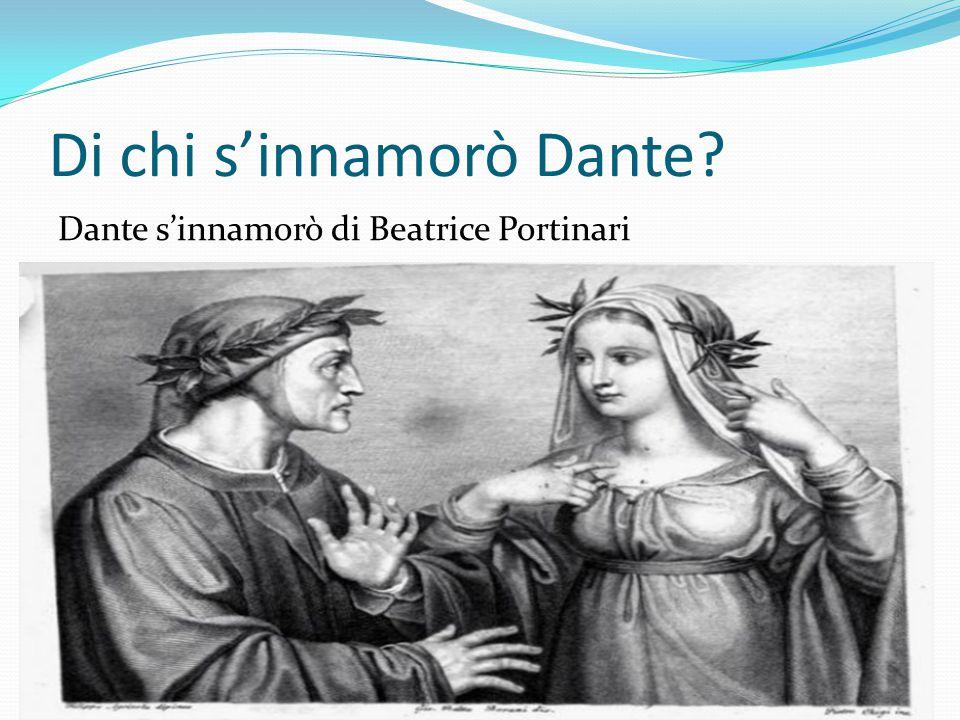 Di chi s'innamorò Dante