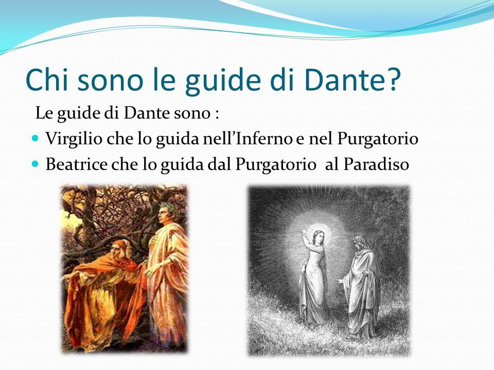 Chi sono le guide di Dante