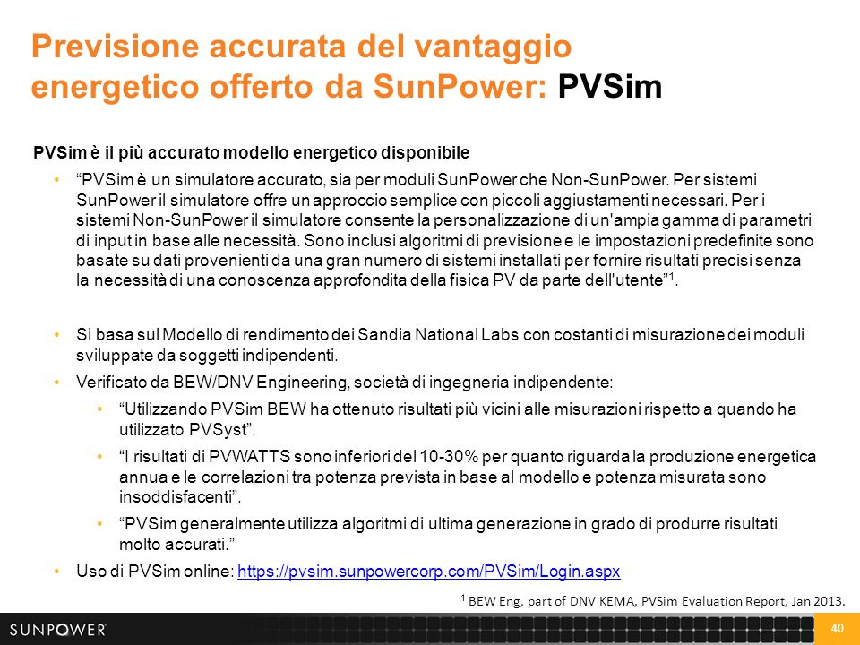 Accuratezza PVSIM: Analisi comparativa di 100 siti