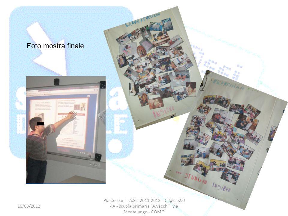 Foto mostra finale 16/08/2012. Pia Corbani - A.Sc.