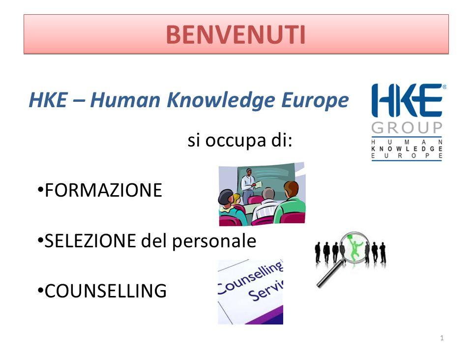BENVENUTI HKE – Human Knowledge Europe si occupa di: FORMAZIONE