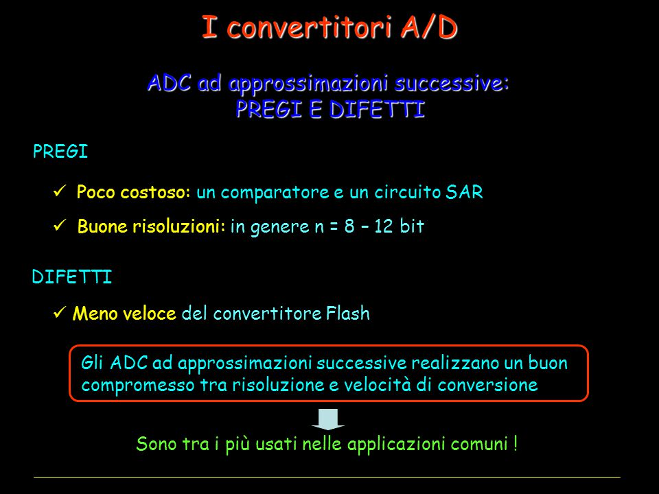 ADC ad approssimazioni successive: