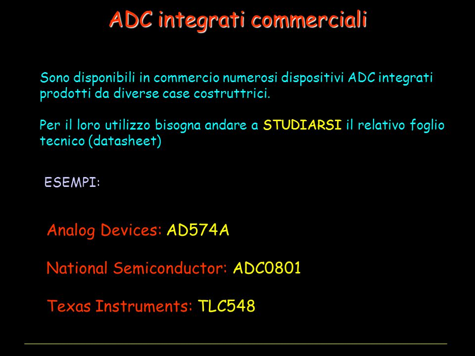 ADC integrati commerciali