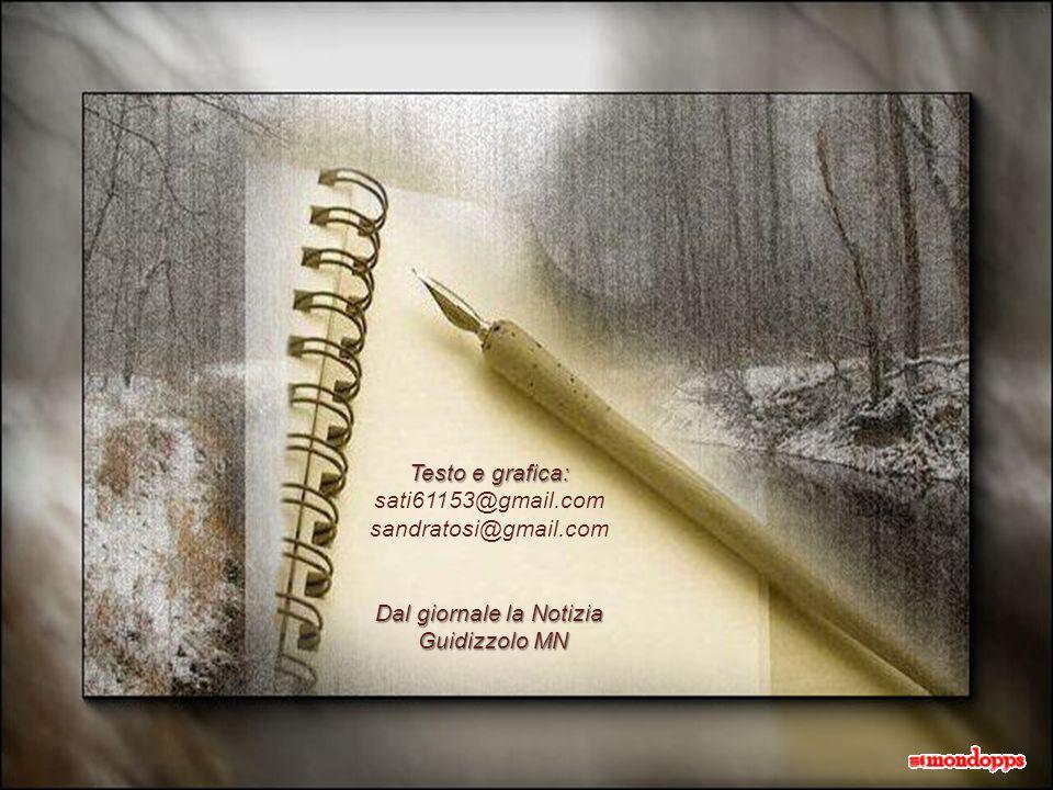 Testo e grafica: sati61153@gmail.com sandratosi@gmail.com