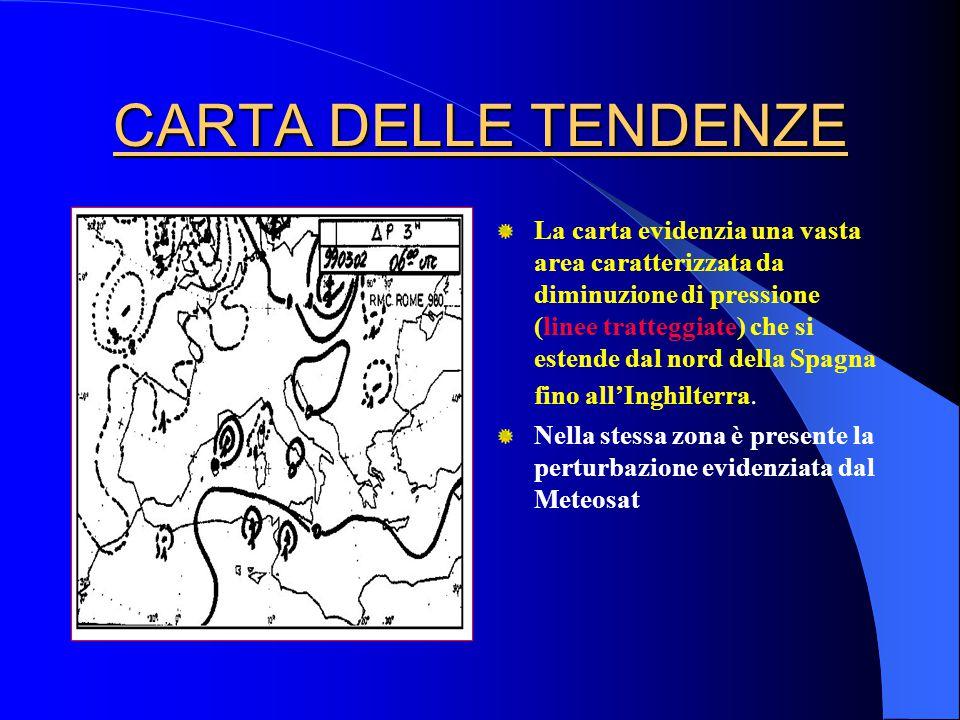CARTA DELLE TENDENZE