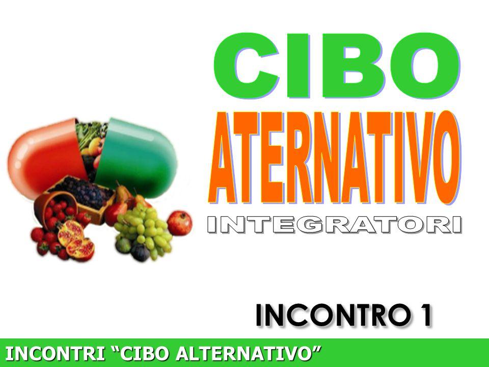 CIBO ATERNATIVO INTEGRATORI INCONTRO 1 INCONTRI CIBO ALTERNATIVO