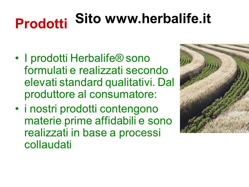 Prodotti Sito www.herbalife.it