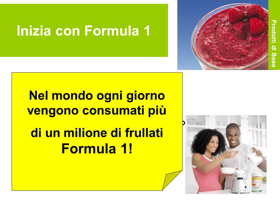 Inizia con Formula 1 Nel mondo ogni giorno vengono consumati più