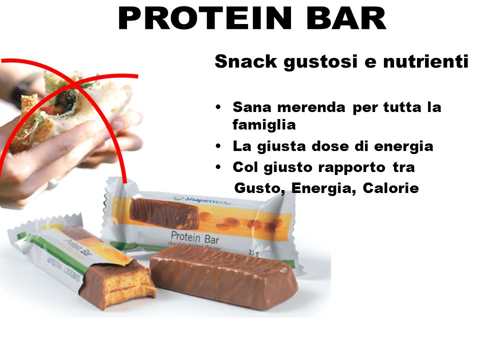 PROTEIN BAR Snack gustosi e nutrienti