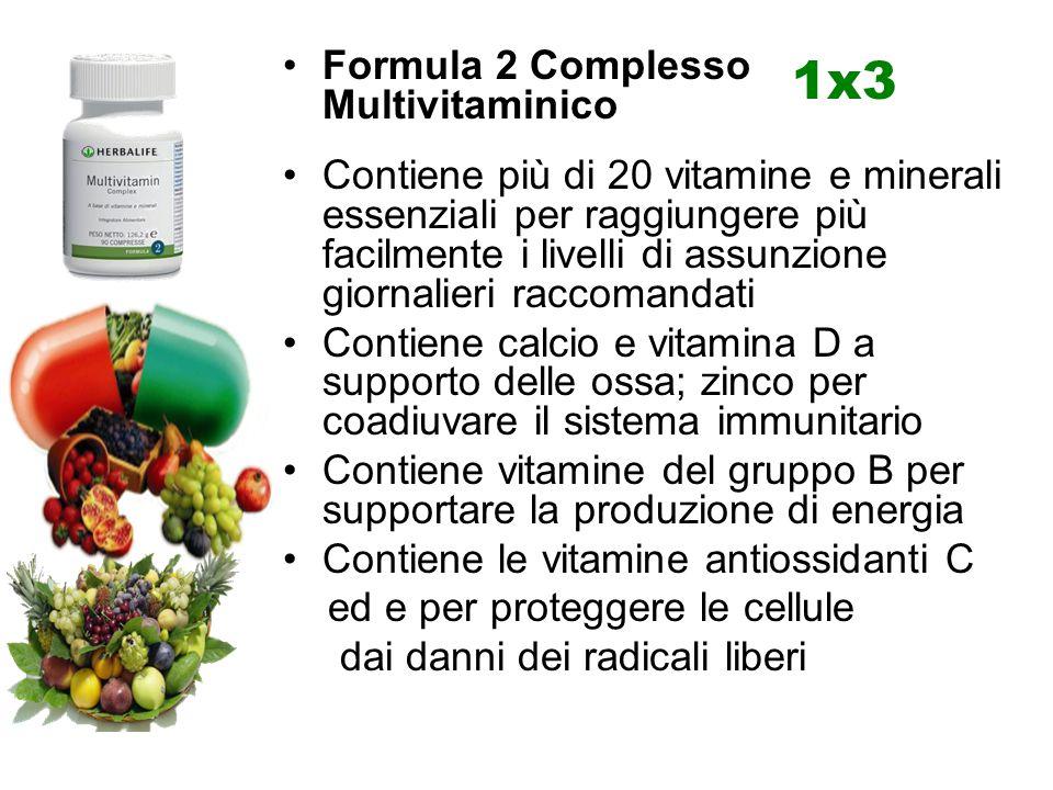 1x3 Formula 2 Complesso Multivitaminico