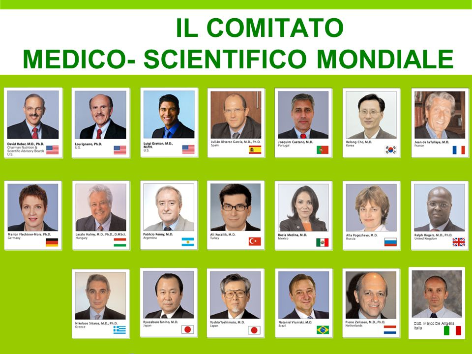 IL COMITATO MEDICO- SCIENTIFICO MONDIALE