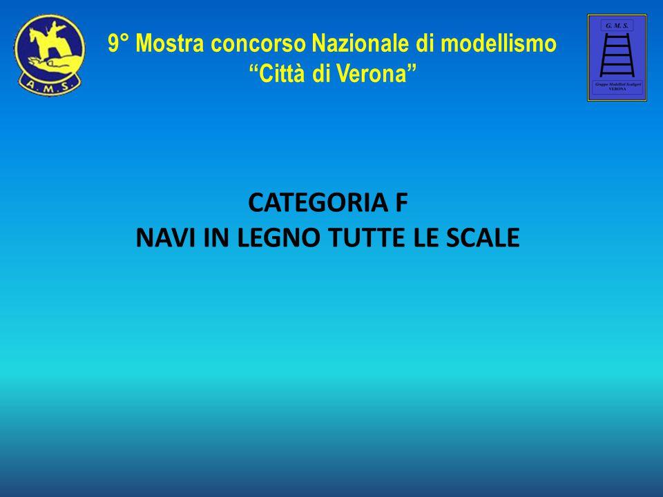 CATEGORIA F NAVI IN LEGNO TUTTE LE SCALE