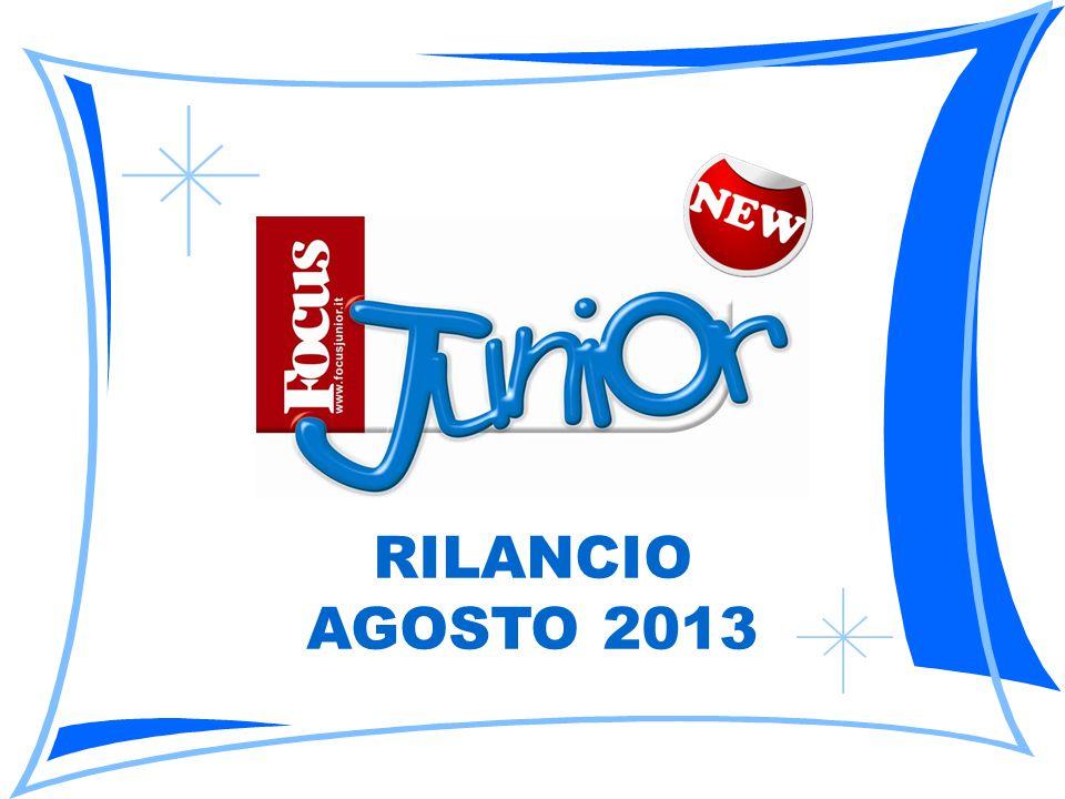 RILANCIO AGOSTO 2013